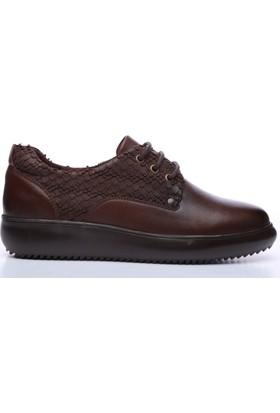 Kemal Tanca 165 72016 Kadın Ayakkabı Kahverengi