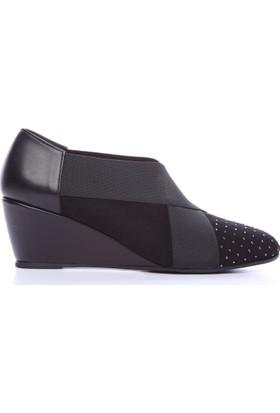 Kemal Tanca 430 550 Kadın Ayakkabı Siyah