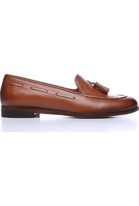 Kemal Tanca 599 7217-1 Kadın Ayakkabı Kahverengi
