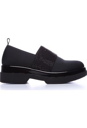 Kemal Tanca 146 2421 Kadın Ayakkabı Siyah