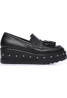 Kemal Tanca 277 400 Kadın Ayakkabı Siyah