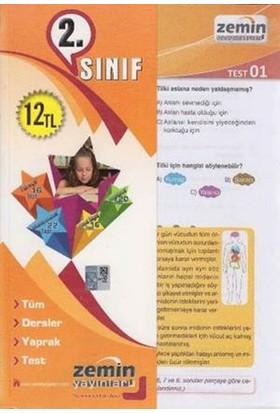 Zemin 2. Sınıf Tüm Dersler Yaprak Test