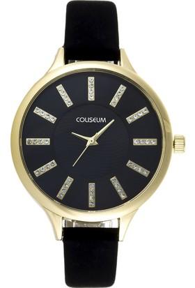 Coliseum CLS3344-BK-02 Kadın Kol Saati