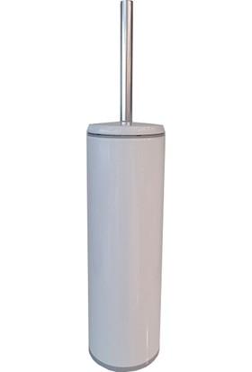 Primanova Cigo Tuvalet Fırçası Beyaz İç Kısım Gri M-E42-01-07