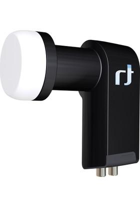 Inverto Black Ultra Twin (Çift Çıkışlı) LNB 40 mm 0.2 dB