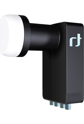 Inverto Black Ultra Quad (Dört Çıkışlı) LNB 40 mm 0.2 dB