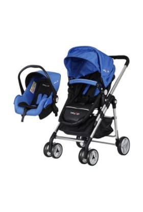 Baby2Go 6035 Fidello Travel Puset - Mavi