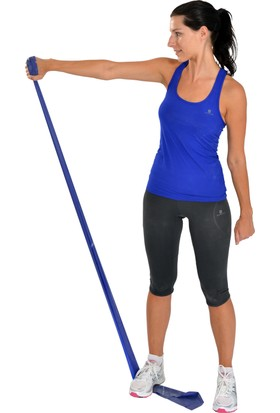 Msd Egzersiz ve Pilates Bandı Thera Band Mavi 120 cm
