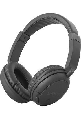 Snopy SN-BT90 Siyah Bluetooth Kulaklık