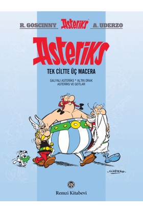 Asteriks : Tek Ciltte Üç Macera