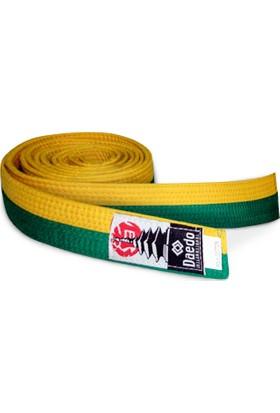 Daedo Taekwondo Sarı-Yeşil Kuşak