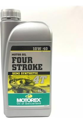 Motorex 4T Motor Yağı 10W/40 Yarı Sentetik 1Lt