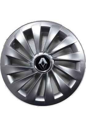 Renault Megane 14 inch Kırılmaz Esnek Jant Kapağı Takımı