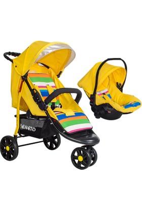 Beneto BT333T Color-Line Jogger Travel Bebek Arabası