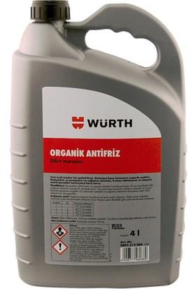Würth Organik Antifriz 4LT -70 Kırmızı