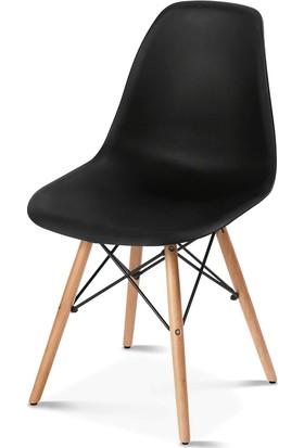 Hepsiburada Home Siyah Eames Sandalye