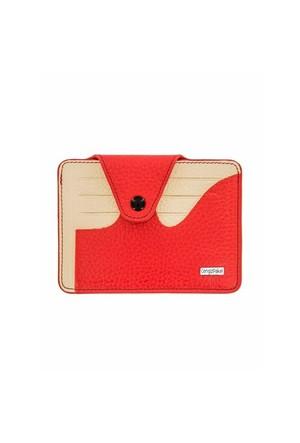 Cengiz Pakel Kartlık Kırmızı Krem 2434