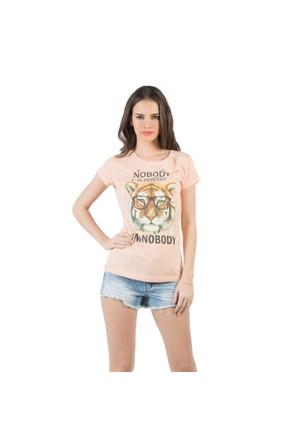 Colin's Somon Kadın Tshirt Kısa Kol