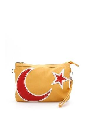 Jacqulıne 1111-31 Sarı Çapraz Bayan Çanta