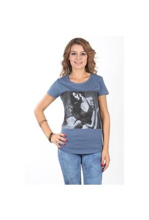 Zekko Baskılı Penye T-Shirt 1425