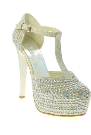 Aktis 4408 Bayan Abiye Gelinlik Ayakkabısi