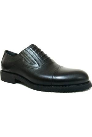 Fastway 1176 Siyah Bağcıksız Erkek Ayakkabı