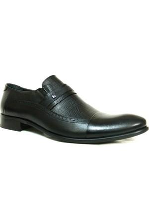 Fastway 1187 Siyah Bağcıksız Erkek Ayakkabı