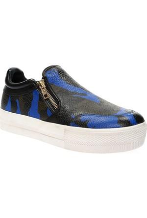 Ash Jordy Bayan Mavi Ayakkabı