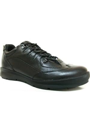 Happy Bull 2977 Siyah Bağcıklı Casual Erkek Ayakkabı
