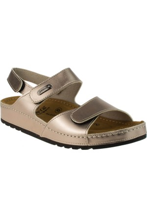 Muya 27249 6 Nokta Platin Kadın Sandalet