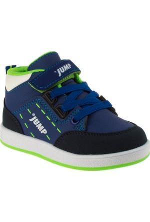 Jump 16789 Bağlı Tek Çırt Lacivert Çocuk Ayakkabı