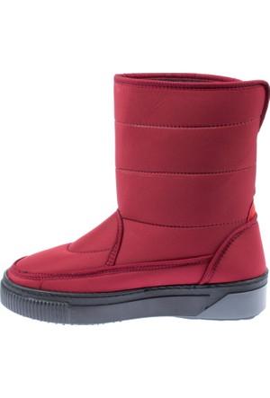 Shalin Kadın Kar Botu Bt 801 Kırmızı Kadın Bot