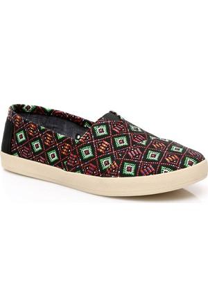 Toms Kadın Multi Woven Wm Ava Slip-on Ayakkabı 10007775.BLK