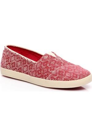 Toms Kadın Txtrd Canvas Dıamond Wm Ava Slip-on Ayakkabı 10007803.RED