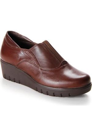Shuflex Hakiki Deri Günlük Kadın Ayakkabı 1002Flxfw