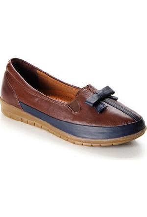 Shuflex Hakiki Deri Fiyonklu Günlük Ayakkabı 1003Flxfw