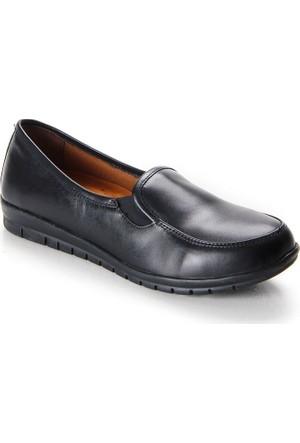 Shuflex Hakiki Deri Günlük Kadın Ayakkabı 1004Flxfw