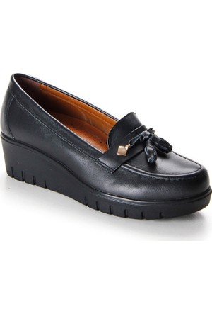 Shuflex Hakiki Deri Günlük Kadın Ayakkabı 1008Flxfw