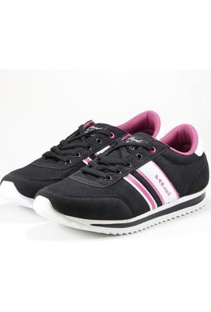 Parley Bayan Spor Ayakkabı Siyah Pembe