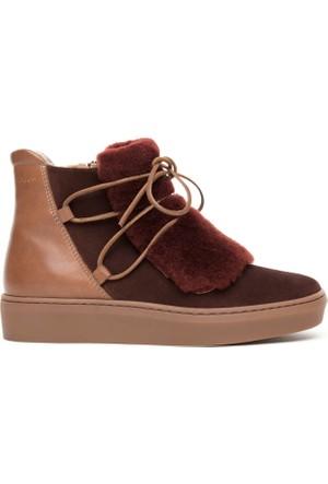 Gant Anne Kadın Bordo Sneaker Ayakkabı 15533089.G480