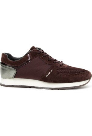 Gant Linda Kadın Bordo Sneaker Ayakkabı 15537978.G531
