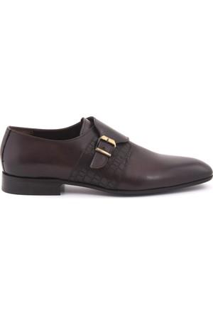 Kemal Tanca Erkek Klasik Ayakkabı Bordo 172KTE624 696