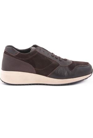 Gutteri Erkek Spor Ayakkabı Kahverengi 172GTE408 7828