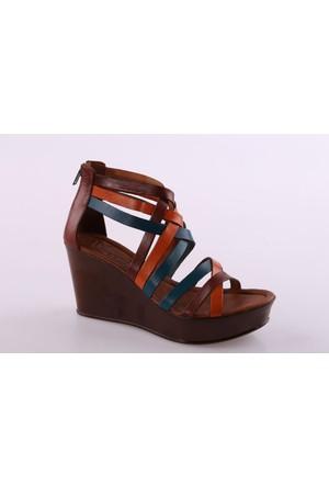 Beety 877 Kadın Dolgu Taban Sandalet