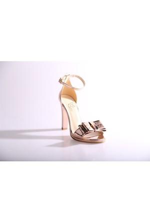 Beety 508 Kadın Bilekten Bağlı Abiye Ayakkabı