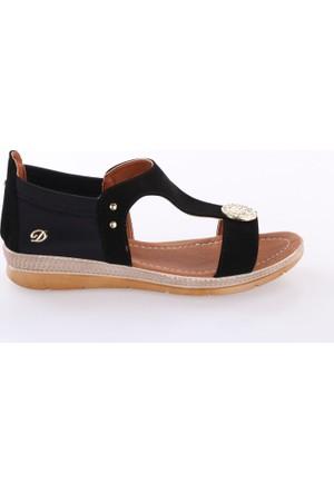 De Scario 980 Kadın Para Tokalı Sandalet