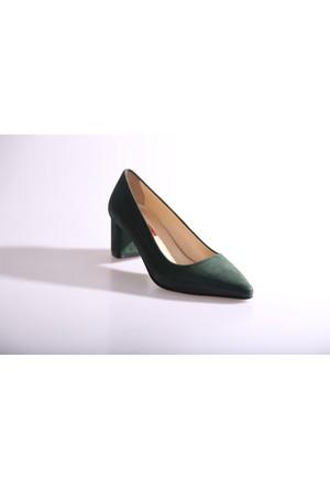 Dgn 375 Kadın Kısa Topuklu Ayakkabı