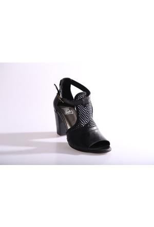 Dgn 5043 Kadın Topuklu Dekolte Ayakkabı