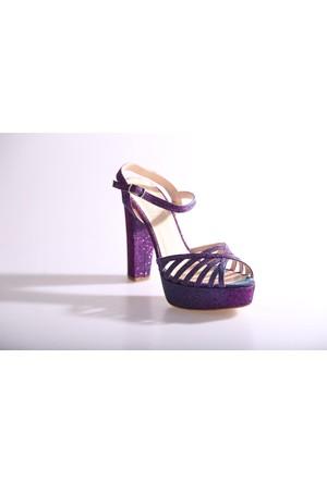 Dgn 840-7023 Kadın Abiye Ayakkabı