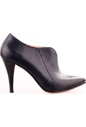 Dgn 1318 Kadın Topuklu Bootie Ayakkabı
